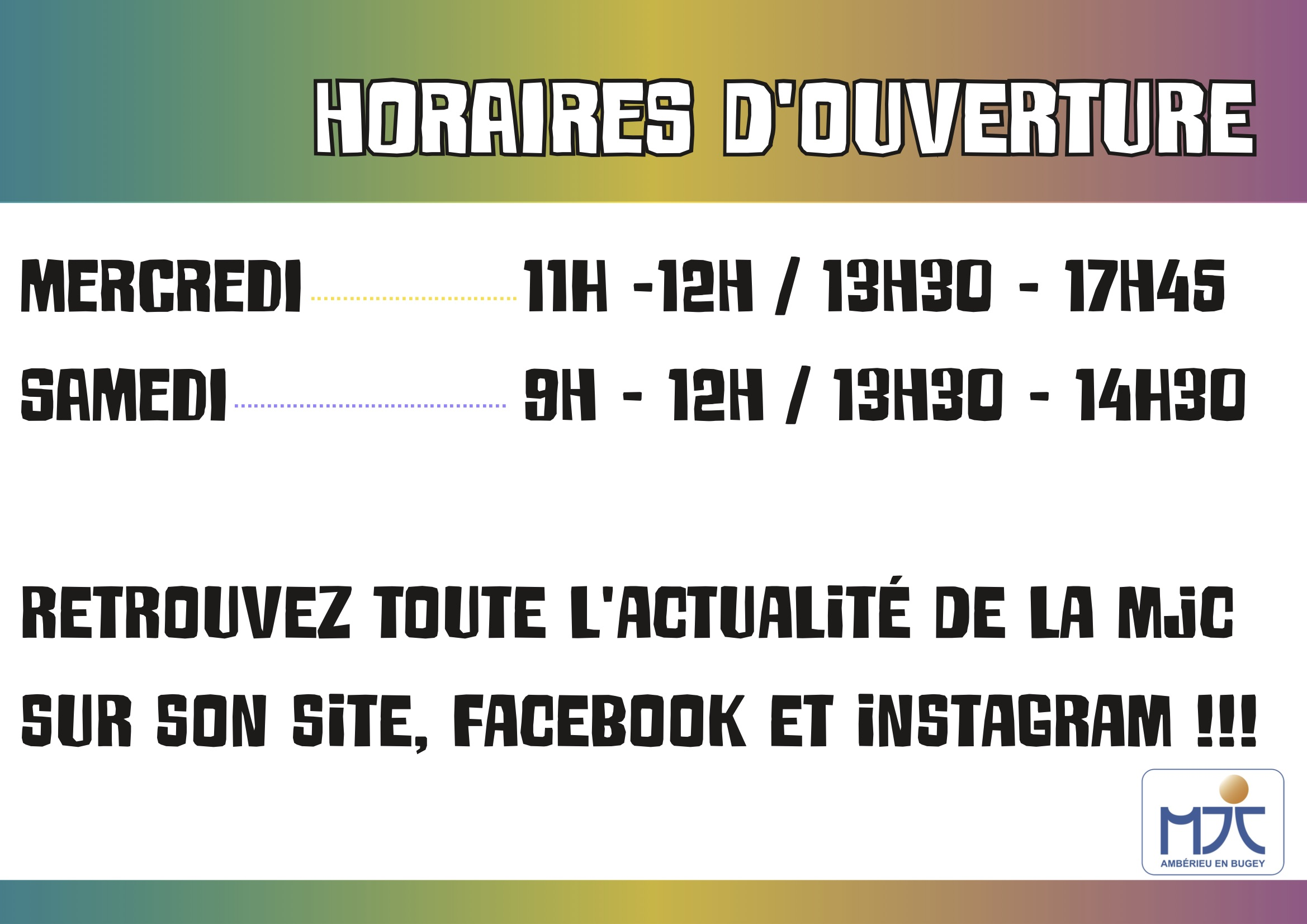 Horaires covid janv 2021
